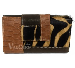 CARTERA MONEDERO ANIMAL PRINT